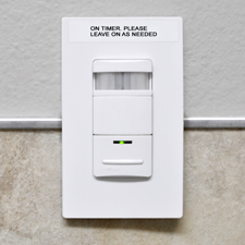 Green Efforts: Occupancy Sensor