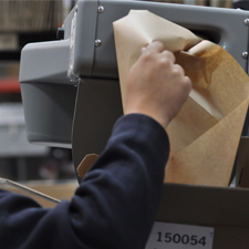 Green Efforts: Recycled Paper Packaging
