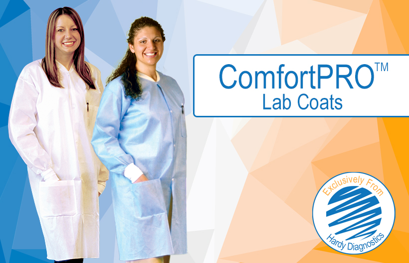 ComfortPRO lab coats header