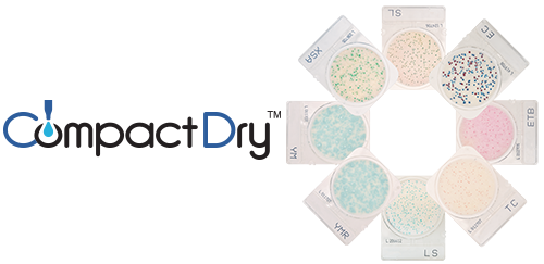 CompactDry for Food Microbiology