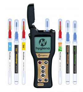 ensure ATP monitoring system and swabs by hygiena