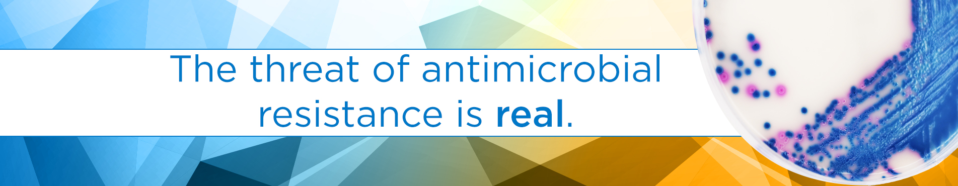antimicrobial resistance landing page banner