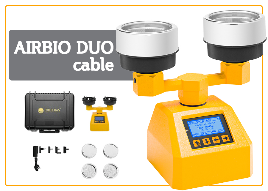 AirBio Duo Trio Bas Biological Air Samplers