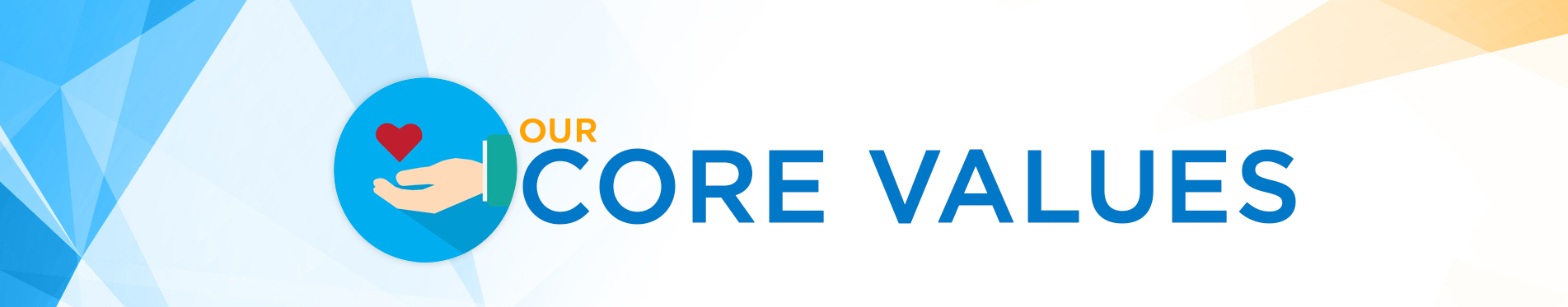 Core Values Banner